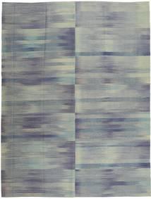Kilim Moderni Tappeto 213X278 Moderno Fatto A Mano Grigio Scuro/Grigio Chiaro (Lana, Afghanistan)