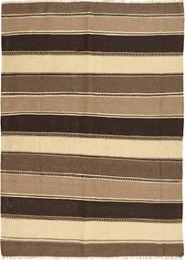 Kilim Tappeto 154X210 Orientale Tessuto A Mano Marrone Chiaro/Marrone/Marrone Scuro (Lana, Persia/Iran)