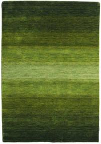 Gabbeh Rainbow - Verde Tappeto 140X200 Moderno Verde Scuro/Verde Oliva (Lana, India)