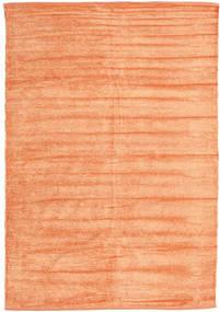 Kilim Ciniglia - Color Pesca Tappeto 140X200 Orientale Tessuto A Mano Beige Scuro/Arancione ( India)