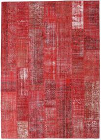 Patchwork Tappeto 253X352 Moderno Fatto A Mano Rosso Scuro/Rosso/Ruggine/Rosso Grandi (Lana, Turchia)