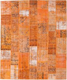 Patchwork Tappeto 252X303 Moderno Fatto A Mano Arancione/Marrone Chiaro Grandi (Lana, Turchia)