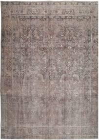 Vintage Tappeto 288X380 Moderno Fatto A Mano Grigio Scuro/Grigio Chiaro Grandi (Lana, Persia/Iran)