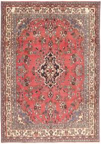 Hamadan Patina Tappeto 203X298 Orientale Fatto A Mano Rosa Chiaro/Rosso Scuro (Lana, Persia/Iran)