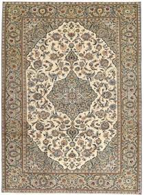 Keshan Patina Tappeto 230X325 Orientale Fatto A Mano Grigio Chiaro/Marrone Chiaro (Lana, Persia/Iran)