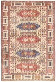 Ardebil Patina Tappeto 138X200 Orientale Fatto A Mano Rosso Scuro/Beige (Lana, Persia/Iran)