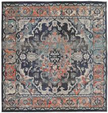 Elnath Tappeto 250X250 Moderno Quadrato Grigio Chiaro/Nero Grandi ( Turchia)