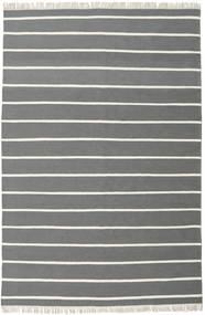 Dorri Stripe - Grigio Tappeto 200X300 Moderno Tessuto A Mano Grigio Scuro/Verde Scuro (Lana, India)