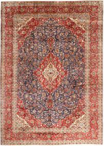 Keshan Tappeto 297X410 Orientale Fatto A Mano Rosso Scuro/Marrone Scuro Grandi (Lana, Persia/Iran)
