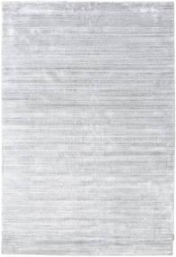 Bambù Di Seta Loom - Grigio Tappeto 200X300 Moderno Bianco/Creme/Grigio Chiaro ( India)