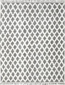 Inez - Marrone Scuro/Bianco Tappeto 300X400 Moderno Tessuto A Mano Grigio Chiaro/Grigio Scuro Grandi (Lana, India)