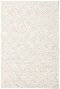 Rut - Azzurro Grigio Melange Tappeto 160X230 Moderno Tessuto A Mano Grigio Chiaro/Beige/Bianco/Creme (Lana, India)