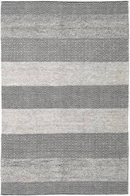 Folke - Marrone Tappeto 200X300 Moderno Tessuto A Mano Grigio Chiaro/Grigio Scuro (Lana, India)