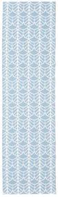 Tappeto Esterno Arch - Blu Tappeto 70X200 Moderno Alfombra Pasillo Azzurro/Beige ( Svezia)