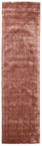 Brooklyn - Pale Copper Tappeto 80X300 Moderno Alfombra Pasillo Rosso Scuro/Marrone Chiaro ( India)