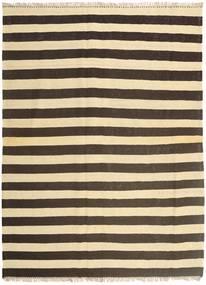 Kilim Tappeto 175X240 Orientale Tessuto A Mano Marrone Scuro/Beige (Lana, Persia/Iran)