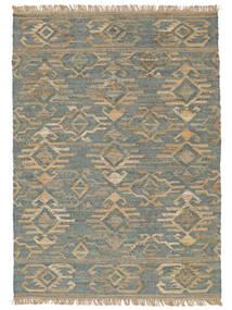 Kalahari Jute Tappeto 170X240 Moderno Tessuto A Mano Grigio Chiaro ( India)