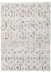Trinny - Marrone/Nature Tappeto 170X240 Moderno Tessuto A Mano Grigio Chiaro ( India)