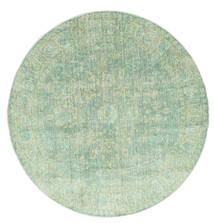 Maharani - Verde Tappeto Ø 150 Moderno Rotondo Verde Pastello ( Turchia)