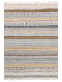 Ester Tappeto 160X230 Moderno Tessuto A Mano Grigio Chiaro/Beige (Lana, India)
