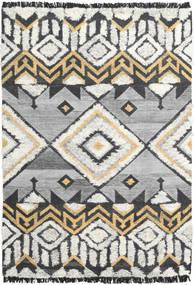 Deco Tappeto 160X230 Moderno Tessuto A Mano Grigio Chiaro/Beige Scuro (Lana, India)
