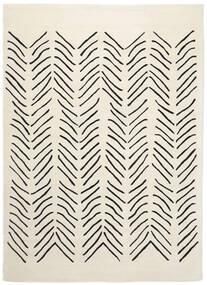 Scandic Lines - 2018 Tappeto 160X230 Moderno Beige/Grigio Scuro (Lana, India)