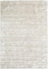 Crystal - Bianco Argentato Tappeto 160X230 Moderno Beige Scuro/Grigio Chiaro ( India)