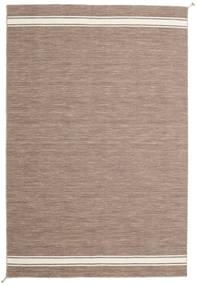 Ernst - Marrone Chiaro/Bianco Sporco Tappeto 200X300 Moderno Tessuto A Mano Grigio Chiaro (Lana, India)