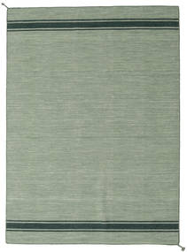 Ernst - Verde/Scuro _Green Tappeto 170X240 Moderno Tessuto A Mano Verde Chiaro/Verde Pastello (Lana, India)