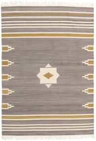 Tribal - Grigio Tappeto 160X230 Moderno Tessuto A Mano Grigio Chiaro/Beige (Lana, India)