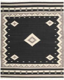 Tribal - Nero Tappeto 250X300 Moderno Tessuto A Mano Nero/Beige Grandi (Lana, India)