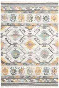 Mirza Tappeto 200X300 Moderno Tessuto A Mano Grigio Chiaro/Beige (Lana, India)