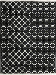London - Nero/Bianco Sporco Tappeto 300X400 Moderno Tessuto A Mano Nero Grandi (Lana, India)