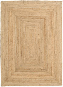 Tappeto Esterno Frida - Natural Tappeto 160X230 Moderno Tessuto A Mano Beige Scuro/Beige (Tappeto In Iuta India)