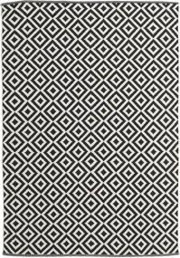 Torun - Nero/Neutral Tappeto 170X240 Moderno Tessuto A Mano Nero/Beige Scuro (Cotone, India)