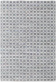 Elna - Grigio Tappeto 170X240 Moderno Tessuto A Mano Grigio Chiaro/Azzurro (Cotone, India)