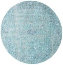 Maharani - Blu Tappeto Ø 150 Moderno Rotondo Azzurro/Blu Turchese ( Turchia)