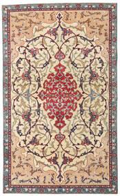 Najafabad Patina Tappeto 140X236 Orientale Fatto A Mano Beige/Marrone Scuro (Lana, Persia/Iran)