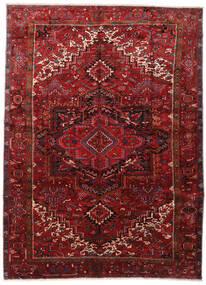 Heriz Tappeto 295X403 Orientale Fatto A Mano Rosso Scuro/Marrone Scuro Grandi (Lana, Persia/Iran)