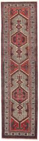 Sarab Patina Tappeto 87X327 Orientale Fatto A Mano Alfombra Pasillo Marrone Scuro/Marrone (Lana, Persia/Iran)