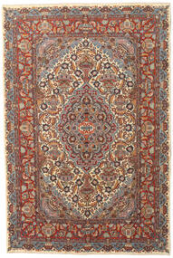 Kashmar Patina Tappeto 195X290 Orientale Fatto A Mano Marrone Scuro/Grigio Scuro (Lana, Persia/Iran)
