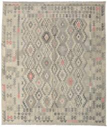 Kilim Afghan Old Style Tappeto 252X297 Orientale Tessuto A Mano Grigio Chiaro Grandi (Lana, Afghanistan)