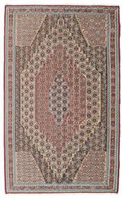 Kilim Senneh Tappeto 148X237 Orientale Tessuto A Mano Grigio Chiaro/Marrone Chiaro (Lana, Persia/Iran)