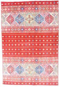 Kazak Tappeto 121X180 Orientale Fatto A Mano Rosa Chiaro/Rosso (Lana, Afghanistan)