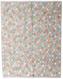 Kilim Afghan Old Style Tappeto 154X194 Orientale Tessuto A Mano Grigio Chiaro/Rosa Chiaro (Lana, Afghanistan)