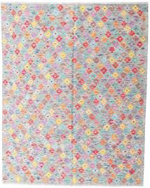 Kilim Afghan Old Style Tappeto 161X203 Orientale Tessuto A Mano Grigio Chiaro/Bianco/Creme (Lana, Afghanistan)