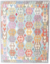 Kilim Afghan Old Style Tappeto 157X199 Orientale Tessuto A Mano Beige/Azzurro (Lana, Afghanistan)