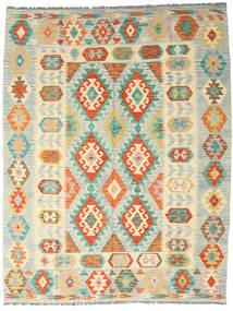 Kilim Afghan Old Style Tappeto 189X242 Orientale Tessuto A Mano Beige/Beige Scuro (Lana, Afghanistan)