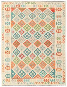 Kilim Afghan Old Style Tappeto 180X238 Orientale Tessuto A Mano Beige/Rosa Chiaro (Lana, Afghanistan)