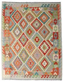Kilim Afghan Old Style Tappeto 156X198 Orientale Tessuto A Mano Grigio Chiaro/Beige Scuro (Lana, Afghanistan)